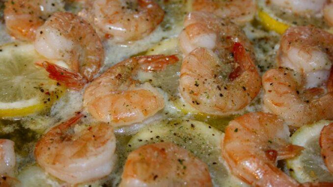 Roasted Lemon Herb Shrimp