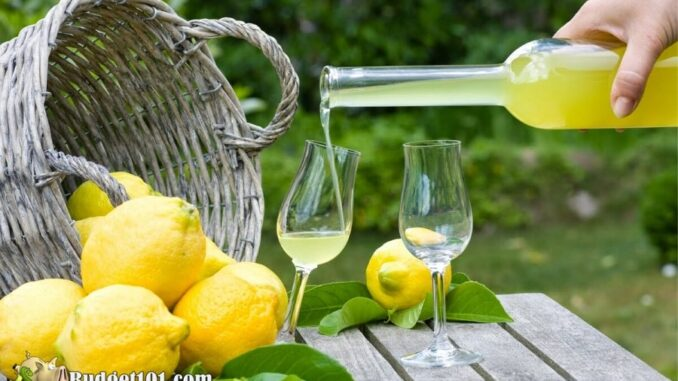 Homemade Limoncello recipe, Step By Step