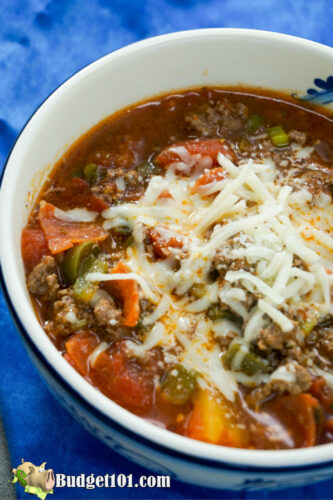 hearty pepperoni stew