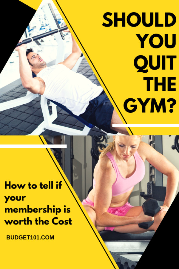 is it time to leave the gym