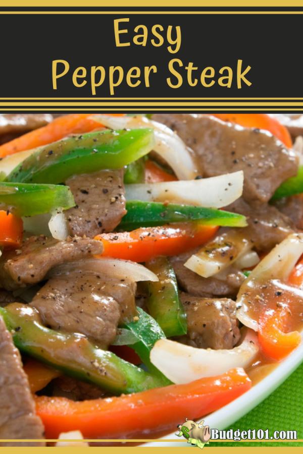 keto friendly pepper steak