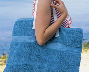 repurposed towel idea for the beach