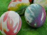 Tie Dye Easter Eggs and Flowers