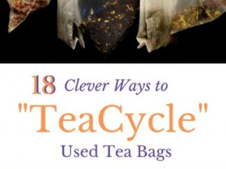 18 genius uses for used tea bags