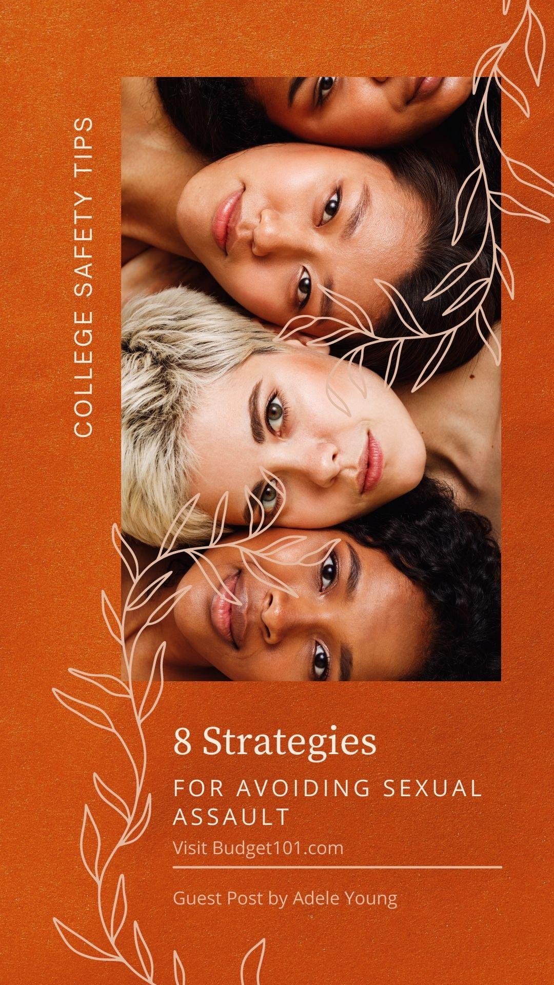 8 strategies avoid sexual assault