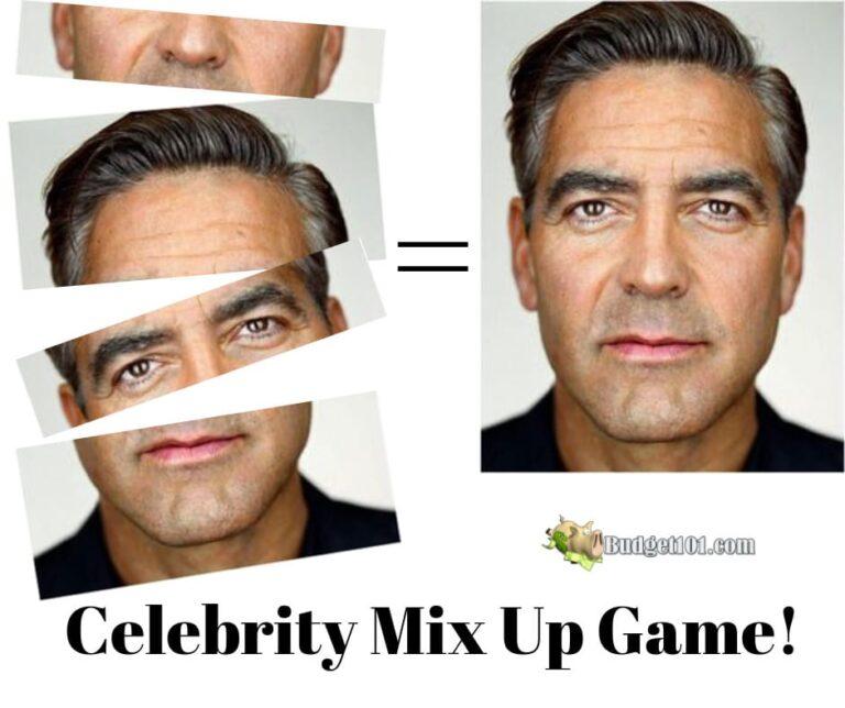 B101 DIY Celebrity Mix Up Game 1