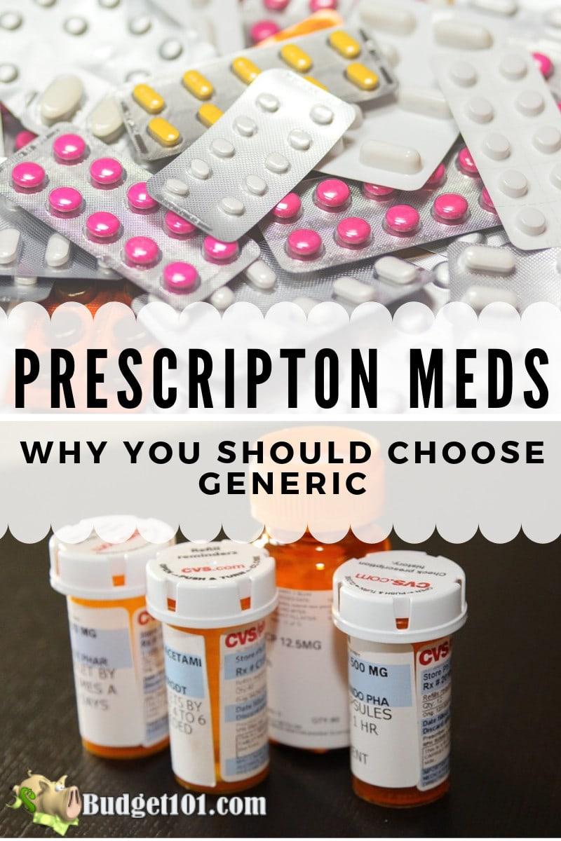 prescription meds why you should choose generic