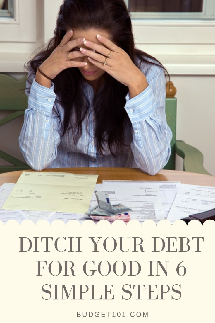 6 ways to Ditch Your Debt for Good