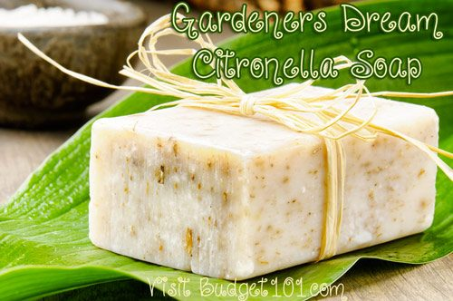 gardeners dream citronella soap