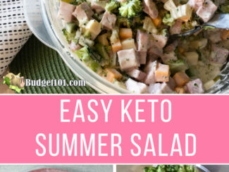 keto summer salad
