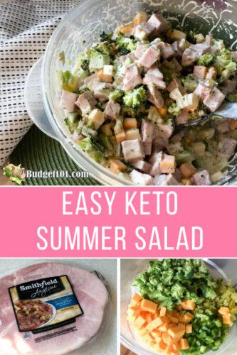 keto summer salad