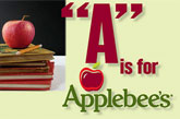 Applebees Report Card Rewards