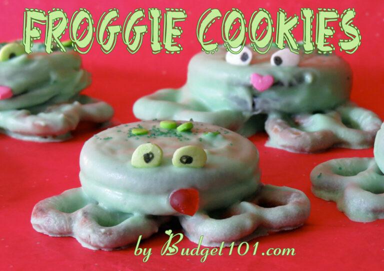 b101 froggie cookies