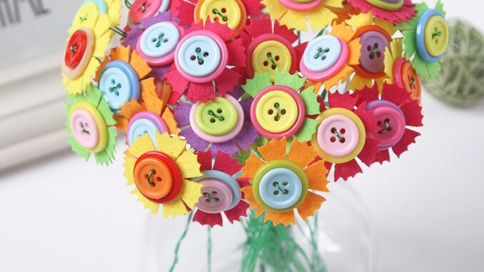 Blooming Buttons Tutorial