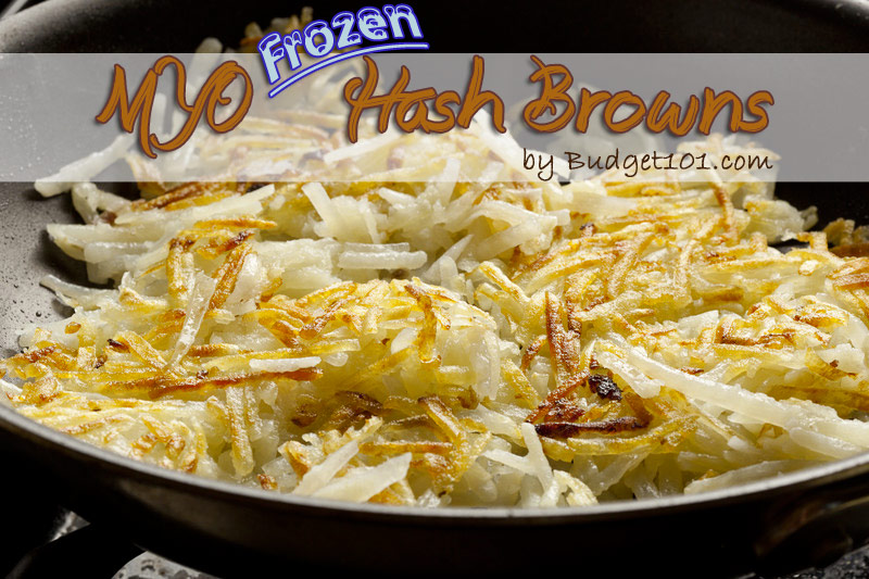 Make your own Frozen Hashbrown Potatoes