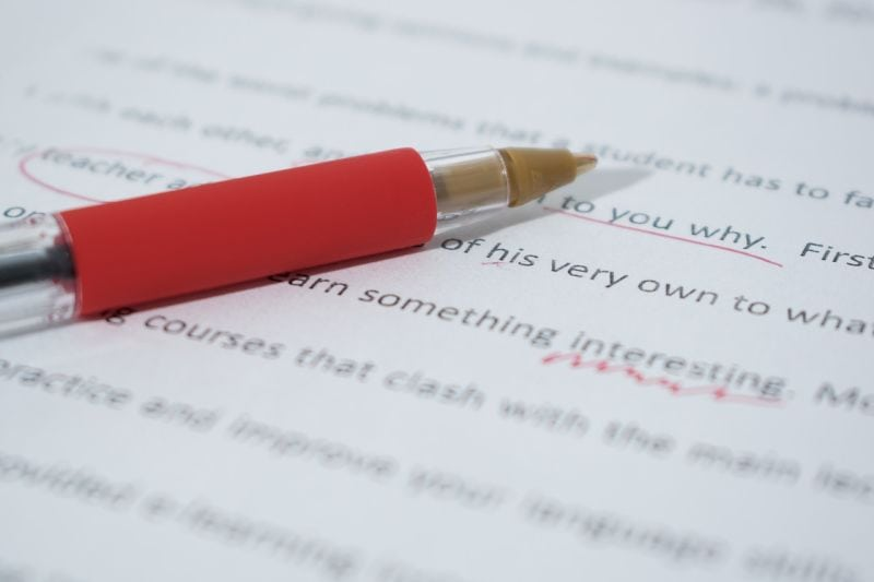 Best Online Jobs for College Students- Proofreading