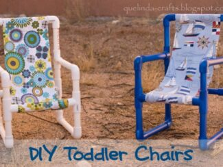 DIY Toddler Chairs out of PVC