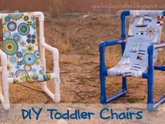 Toddler PVC Chair Plans
