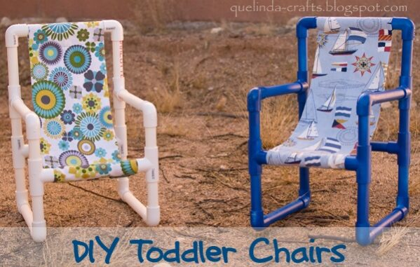 Toddler PVC Chair Plans