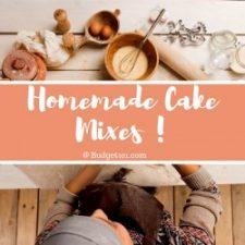 20 DIY Cake Mixes