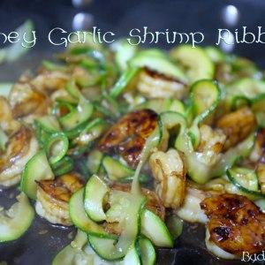 Honey Garlic Shrimp Ribbon
