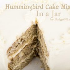 Hummingbird Cake Mix in a Jar