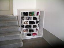 Lazy Susan Shoe Storage Examples 05