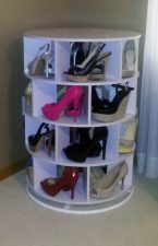 Lazy Susan Shoe Storage Examples 10