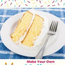 MYO Yellow Cake Mix