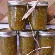 MYO Zucchini Relish