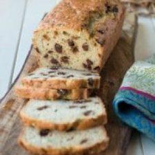 Paleo Chocolate Chip Zucchini Almond Bread