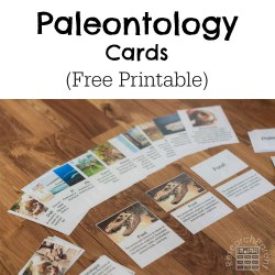Free Paleontology Cards