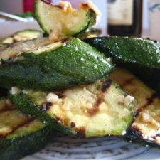 Perfect Grilled Zucchini