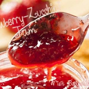 Zucchini Strawberry Jam