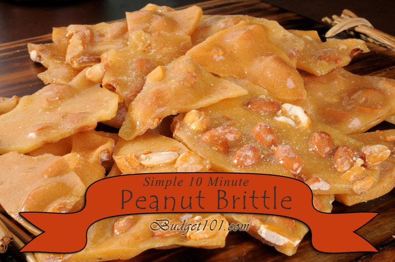 Never Fail Peanut Brittle