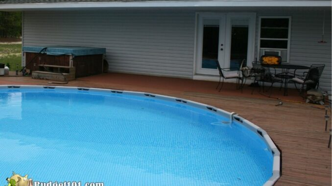 b101 swimming pool cheap