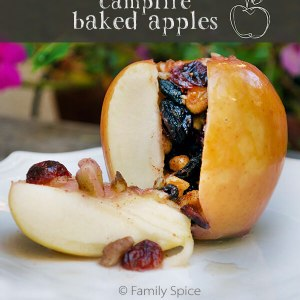 Campfire Baked Apples