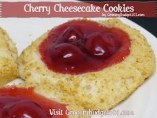 Cherry Cheesecake Cookies