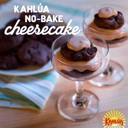 no-bake Kahlúa Cheesecake Dessert