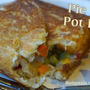 Pie Iron Pot Pie