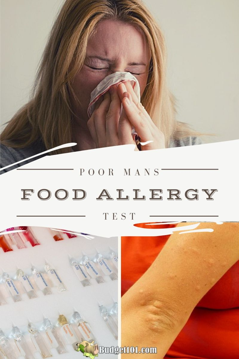 """Did you know that when you consume something that your body has a sensitivity to, your body reacts by releasing histamines triggered by that particular food and then, in turn, your body's adrenal glands react by releasing cortisol (an anti-inflammatory hormone) which """"runs to the rescue"""", so to speak. Here's how to Test for allergies at home for FREE #Allergies #FoodAllergies #Health #Homeremedies #budget101"""