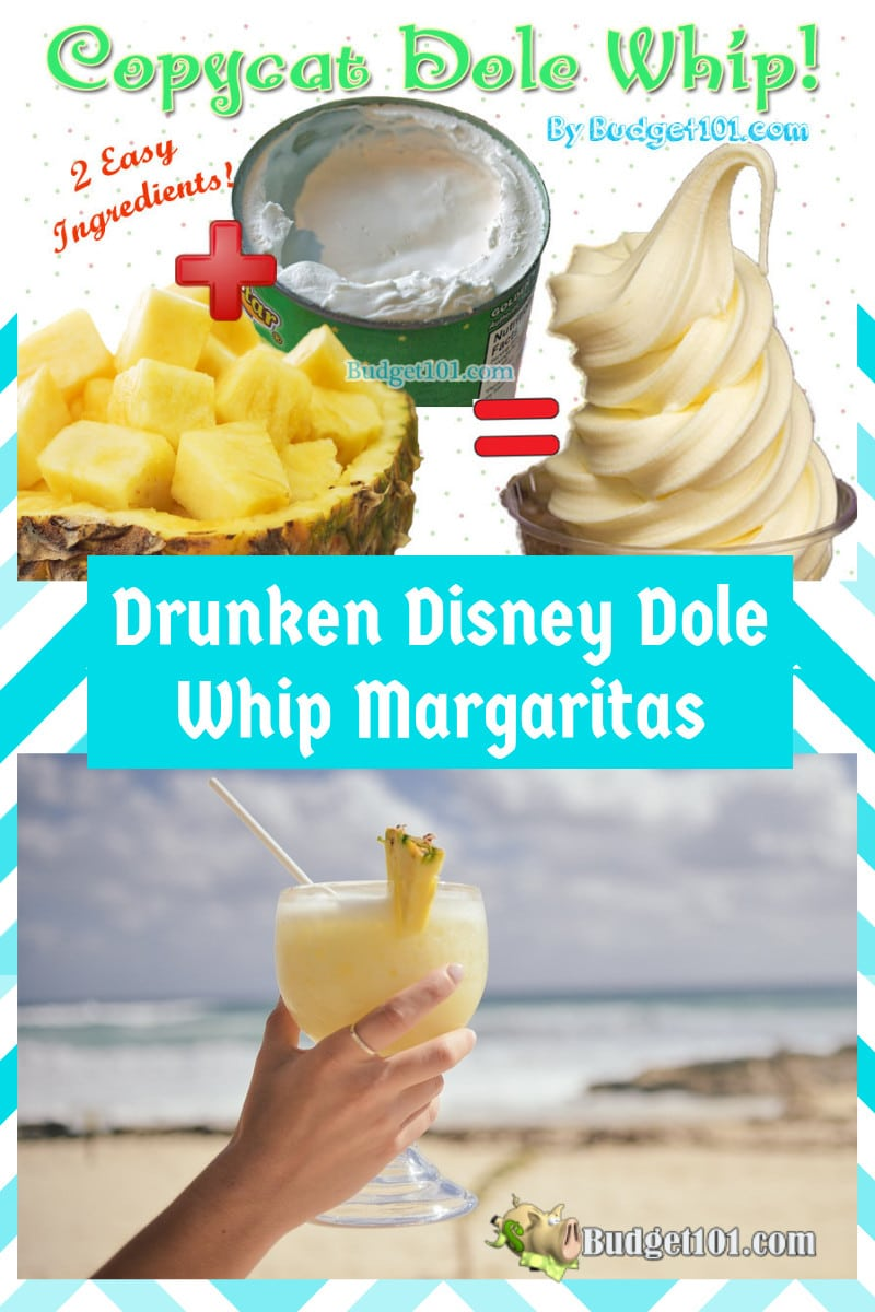 Budget101 Copycat Dole Whip and Drunken Dole whip Margaritas