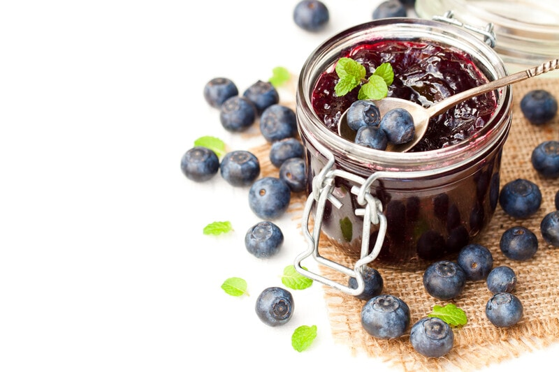 Raw Blueberry Jam Recipe