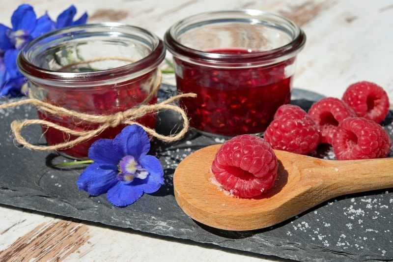 Raw Raspberry Jam Recipe