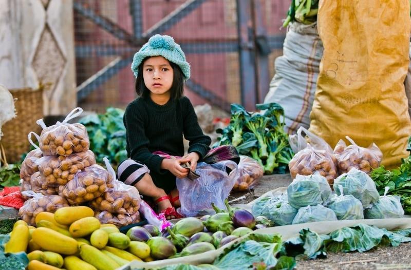 Myanmar Morning Market