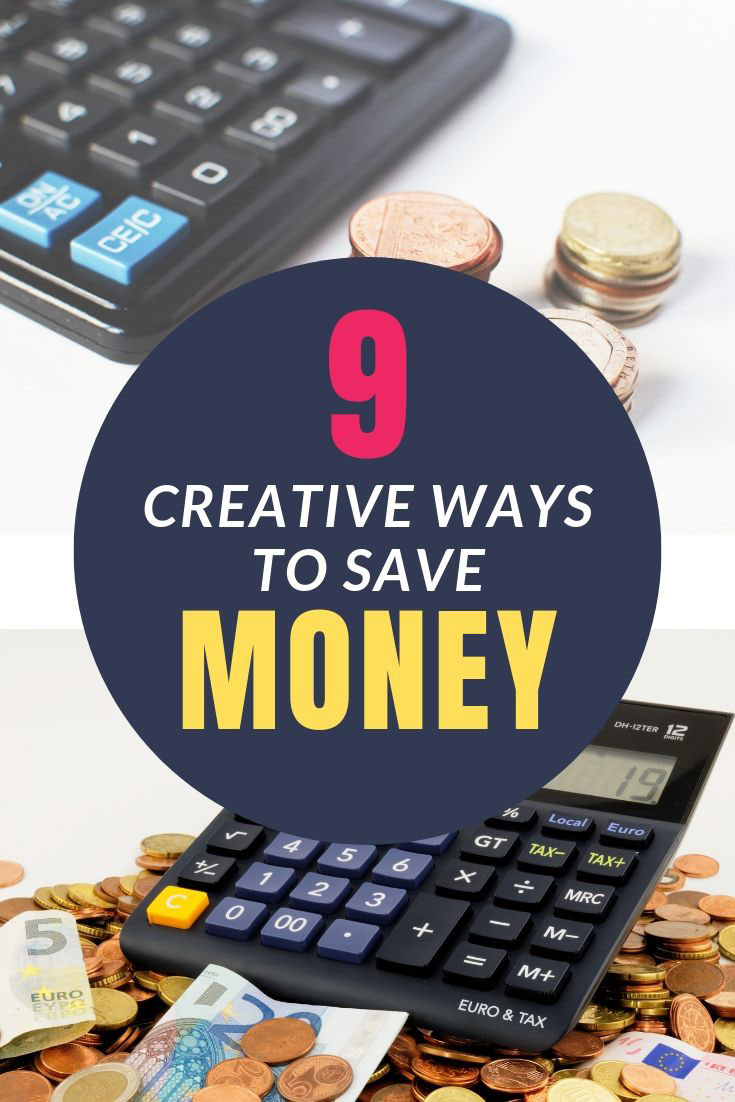 When you think you've trimmed it all, here are 9 creative ways to save money you probably haven't thought of! #Budget101 #Finances #SaveMoney
