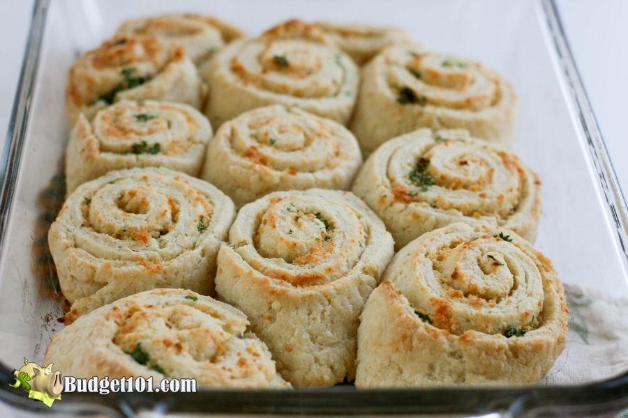 Parmesan Herb Biscuits - Budget101.com