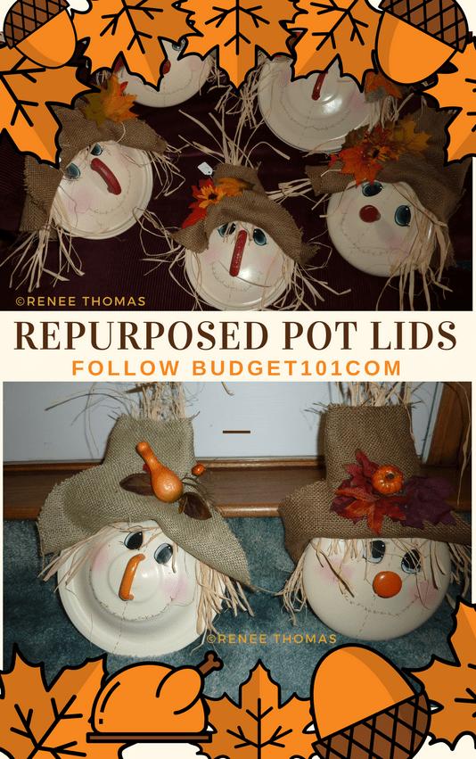 scarecrow pot lids