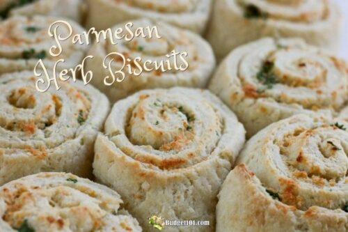 parmesan herb biscuits