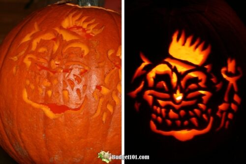b101 free pumpkin carving templates